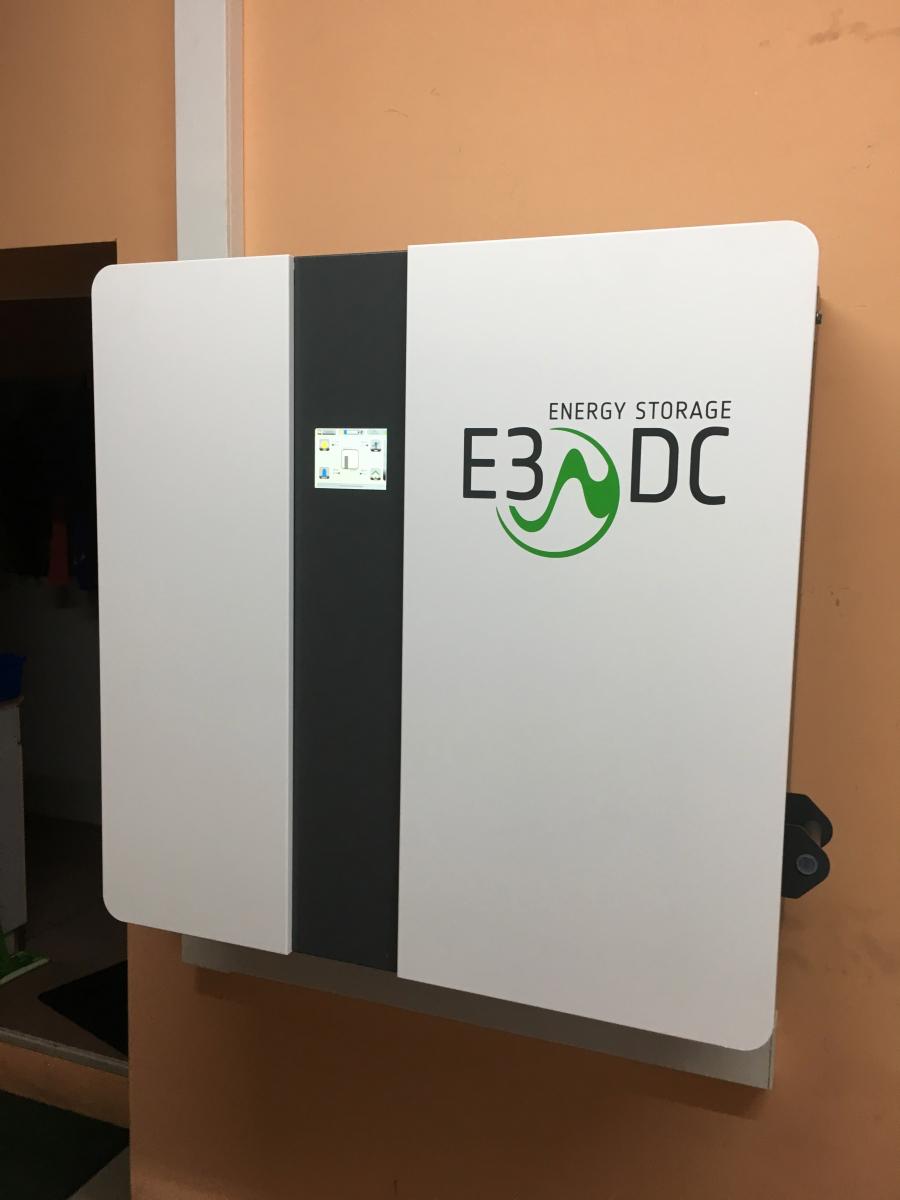 E3DC Speichersystem in Magdeburg